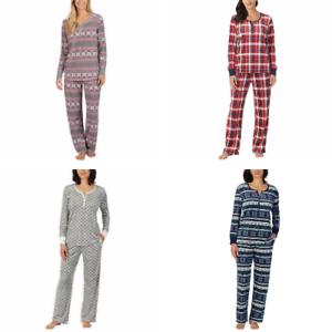 Nautica 2 piece Women's Sleepwear Silky Stretch Fleece Pajama Set 1415795