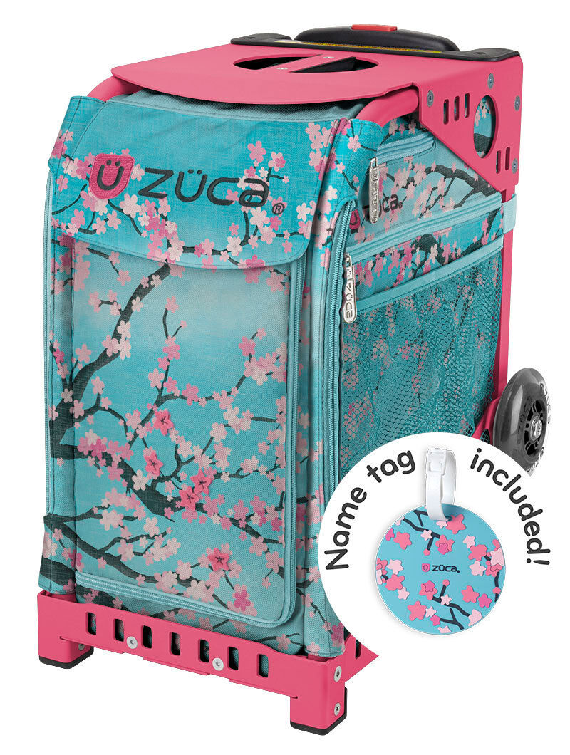 Zuca Sport Borsa and - Hanami with GIFT Lunchbox and Borsa Seat Cover (rosa Frame) 620beb