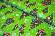 ANNA GRIFFIN USA Designerstoff  0,5 m Weihnachten CHRISTMAS KITSCH TANNENBAUM A