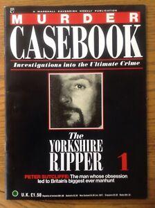 Murder Casebook Magazine First Edition The Yorkshire Ripper Ebay