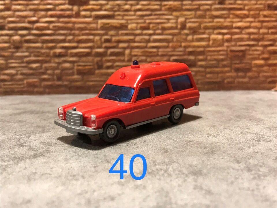 Modeltog, ( Bil nr 40 ) Wiking Modelbil , skala 1:87
