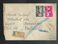 1943 Nis Serbia to Germany Cover Watenstedt Neuengamme Concentration Camp KZ
