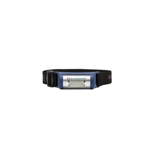 Scangrip BATTERIA LED Frontale Lampada I-View con batteria e cavo di ricarica