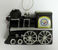 Pittsburgh Steelers Collectible Train Ornament on sale
