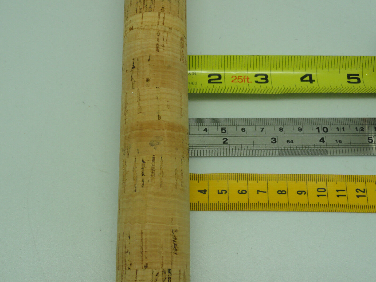 "X HEAT SHRINK TUBE ROD BUILDING HANDLE 25mm X 64/"" BLUE for Calstar Seeker rod"