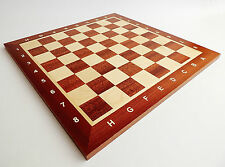 BRAND NEW TOURNAMENT NR 4 WOODEN CHESS BOARD 40cm x 40cm