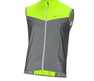 Wind Coat Safety Night Riding Reflective Cycling Vest Sleeveless Jacket