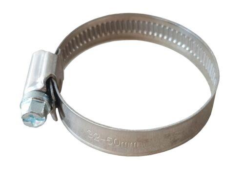 0,50 €//1stk 5 Pezzi Tubo Flessibile Morsetto 9mm larga selezione diametro