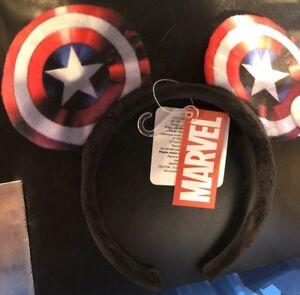 Acheter Pas Cher Serre-tête / Headband Captamerica / Capitaine America Disneyland Paris Un Enrichit Et Nutritif Pour Le Foie Et Les Rein
