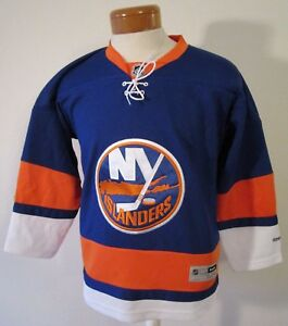 finest selection 21b79 5768d Image is loading NEW-Reebok-New-York-Islanders-Youth-Premier-Home-