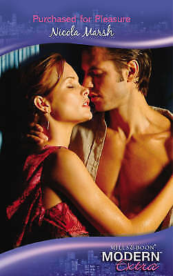 Purchased for Pleasure (Modern Romance Series Extra), Marsh, Nicola, Very Good B