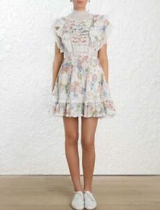 Occident-Summer-Floral-Falbala-Short-Dress-Ruffle-Lace-Mini-Womens-Girls-Dresses