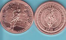 2 oz 2018 Non Vi Virtute Vici Micro-mintage BU with COA Airtite Silver Shield