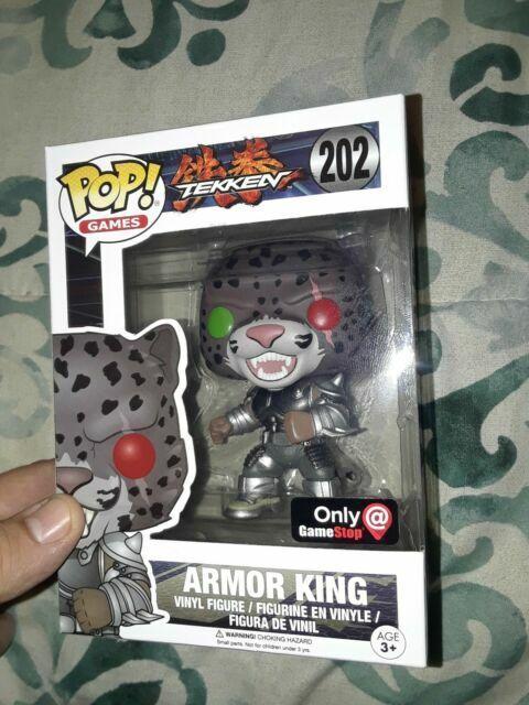 Funko Pop Armor King Gamestop 202 Tekken For Sale Online Ebay