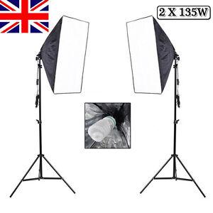 Image is loading 1350W-Photo-Studio-Video-Softbox-Continuous-Lighting-Soft-  sc 1 st  eBay & 1350W Photo Studio Video Softbox Continuous Lighting Soft Box ... azcodes.com