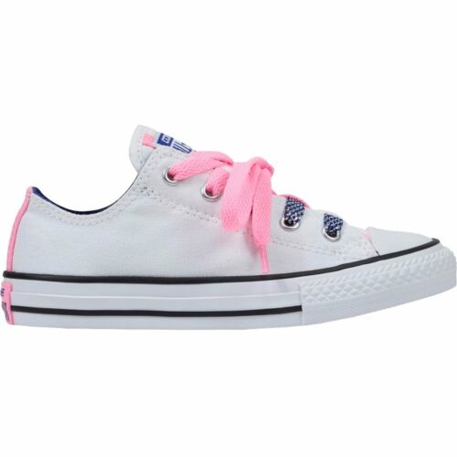 Converse Chuck Taylor All-Star Loopholes Oxford White//Pink Glow//True Indigo