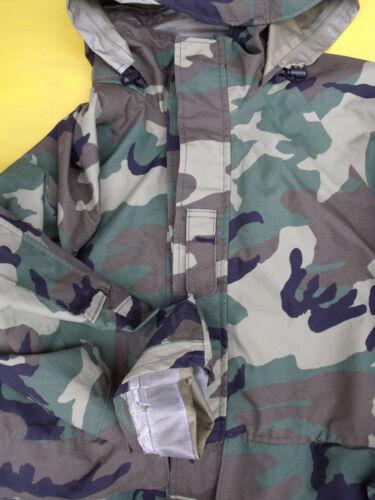 US Army Cold Wet Weather Gen 2 II  ECWCS Woodland Goretex Parka Jacket S M L XL