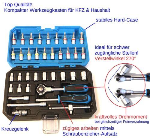 feinverzahnt TOP Compact Boîte à outils avec réglable 270 ° cliquet