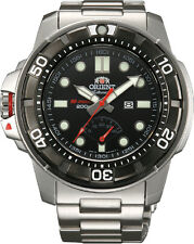 Orient SEL06001B Men's M-Force Beast Diver Power Reserve Automatic Watch