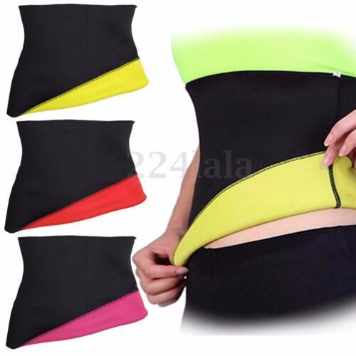 Women Hot Neoprene Body Shaper Slimming Waist Trainer Cincher Corset Slim Belt