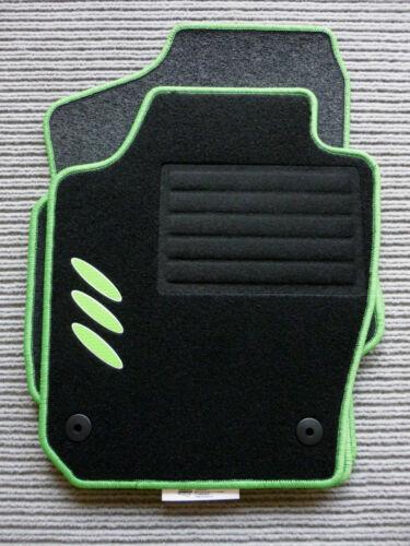 $$$ Original Lengenfelder Fußmatten für Seat Leon 5F FR NEU CARBON Ellipsen