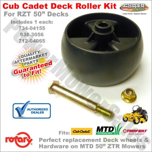 "5/"" Deck Wheel//Bolt MTD Cub Cadet Troy Bilt Lawn Mower 42/"" 50/"" 54/"" Deck 734-04155"