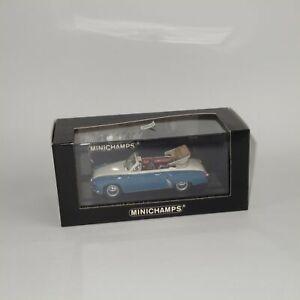 Minichamps 1958 Wartburg A 312 Cabriolet Blue / White