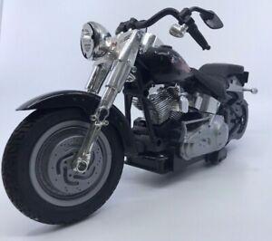 New-Bright-Harley-Davidson-Motorcycle-Fatboy-88-1-12-scale-vintage-READ-DESCRIP