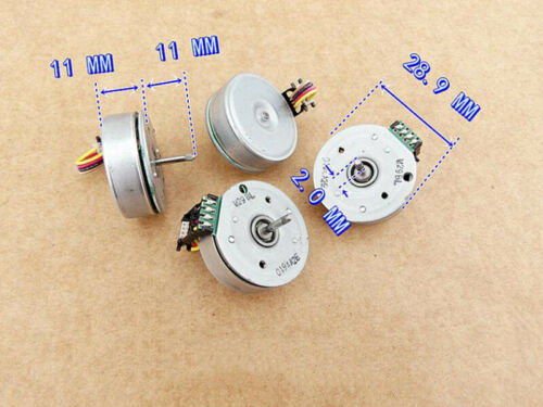 MITSUMI DC 12V 14000RPM 3-Phase External Outer Rotor Brushless Motor 2mm Shaft