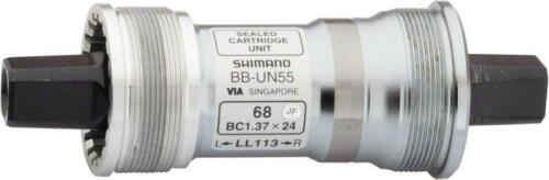 Shimano UN55 73 X 113 MM carré conique anglais pédalier