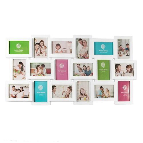 Multimarco 18 fotos marco collage fotográfico marco de fotos multiple mural
