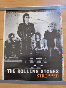ROLLING STONES 40 Licks promo poster 6x24