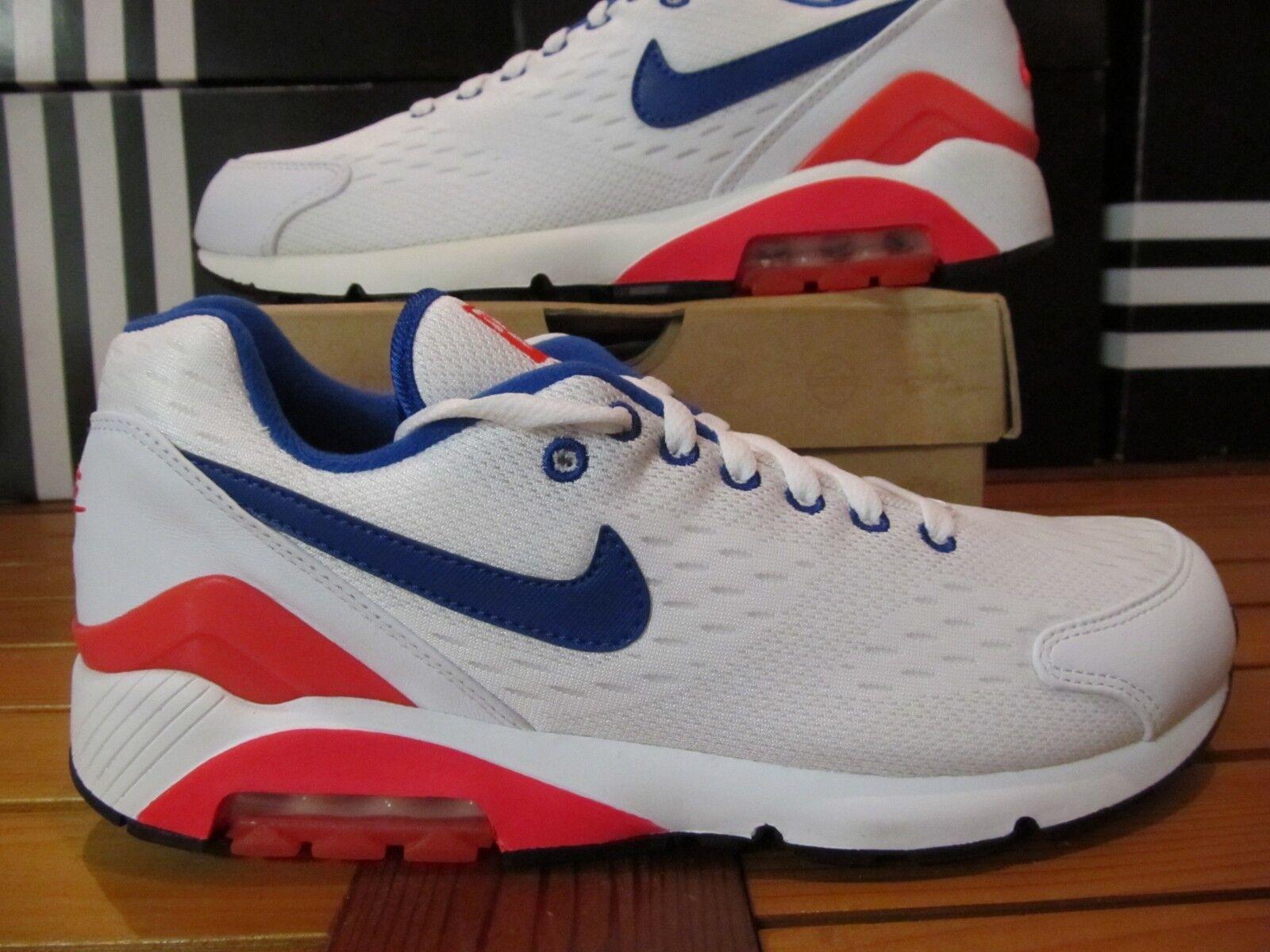 NEW Nike Air Max 180 EM White Solar 160 Red Ultramarine 10 579921 160 Solar og 1 90 95 97 2741dd