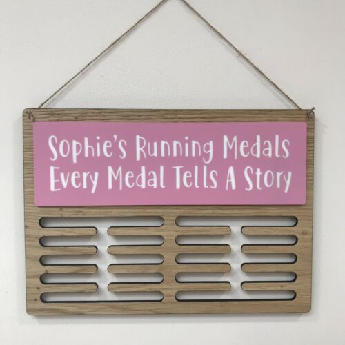 Médaille Display Hanger Holder Running Natation Sports personnalisé toute formulation