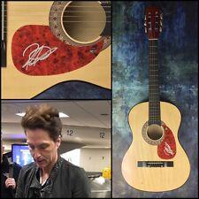 GFA Pop Rock Heart Throb * RICHARD MARX * Signed Acoustic Guitar PROOF AD1 COA