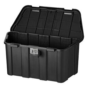 Deichselbox-Anhaenger-45L-mit-Zahlenschloss-inkl-Montagematerial-Kiste