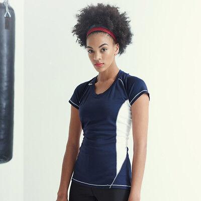 Regatta Active Wear Beijing Ladies T-Shirt Gym Running Classic Sport Top T Shirt