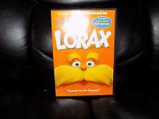 Dr. Seuss' The Lorax (DVD, 2012) EUC