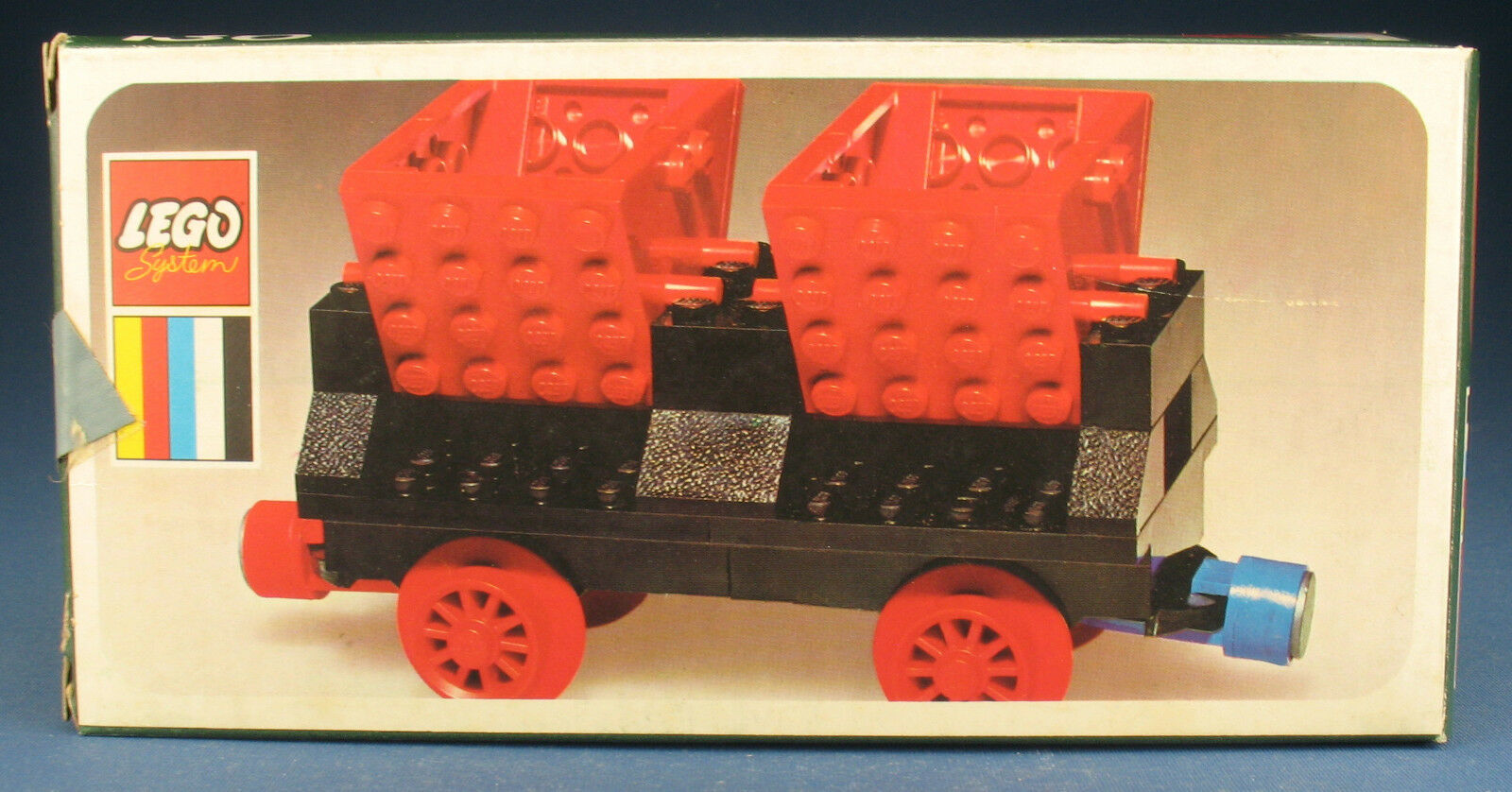LEGO 130 - Muldenkippwaggon - Wagon - 4,5V Eisenbahn - in OVP   Box - Train 1972