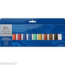 Winsor Newton Watercolour 12 x 8ml Tube Set Artist Art Paints Students Cotman