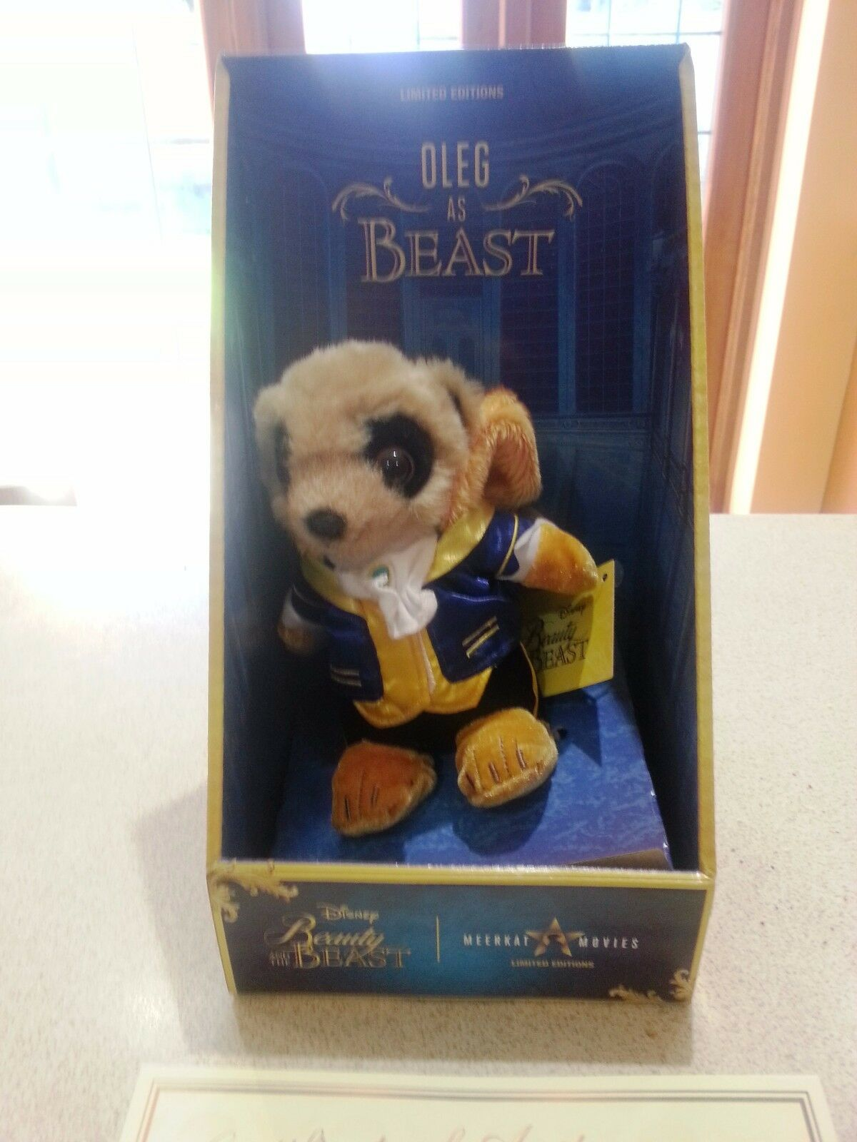 OLEG AS BEAST Compare the Meerkat Limited Edition Toy Brand New P&P INCL