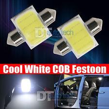 X White COB LED Map Dome Interior Light Bulbs Mm Festoon - Us map lights