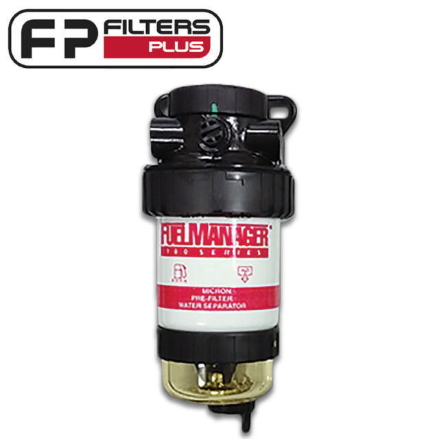 FM100 44760 - Fuel Manager Housing - 5 Micron - 99% Water Removal From Diesel
