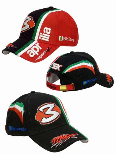 Offerta Biaggi Max Cappello N 3 Hat Rsv4 Cap Cappellino Aprilia Nero tqBtnPxr