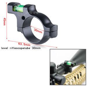 "Rifle/Airgun Alloy Scope Spirit Level Bubble For 30mm /25mm / 1"" Mounts Bolt"