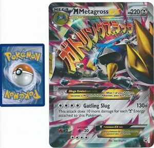 Jumbo pokemon mega metagross ex xy35 oversized holo promo - Jumbo mobel discount ...