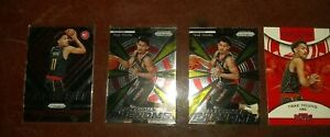 Trea-Young-Hawks-LOT-4-Rookies-PRIZM-2-Phenoms-1-Emergent-1-ROY-Contenders