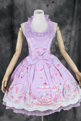 M-07 S//M//L//XL//XXL Milky Planet Lolita JSK Cosplay vestito dress costume Harajuku