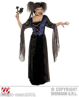 S3512 Kostüm Gothic Prinzessin - Halloween Verkleidung Kleid - Dame  Gr. M - XXL