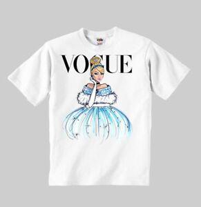 Sleeping Beauty Princess Vogue t-shirt Disney clothing kid toddler children